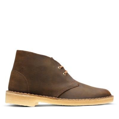 Mens Weaver Chukka Boots, Brown, 6.5 Clarks