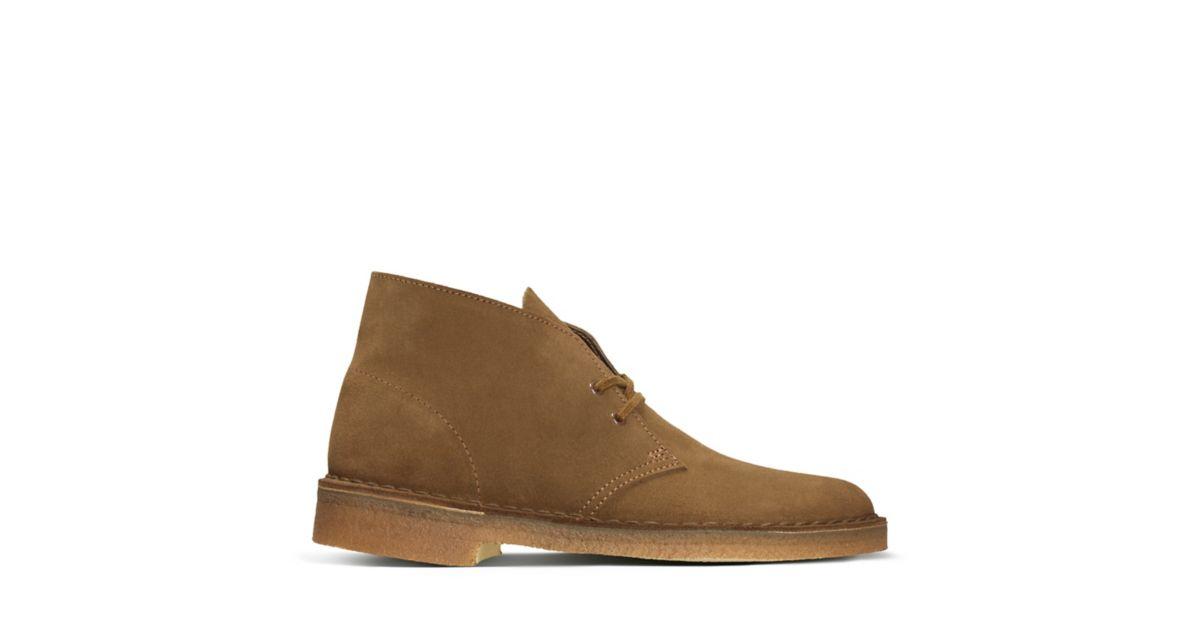 Desert Boots Chukka Pour Les Hommes En Vente, Brun, Cuir Suède, 2017, 41 Clarks