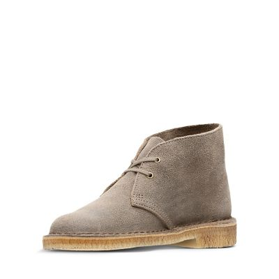 desert boot taupe distressed clarks