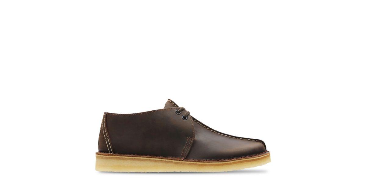 Desert Trek Beeswax Clarks Original Shoes For Men