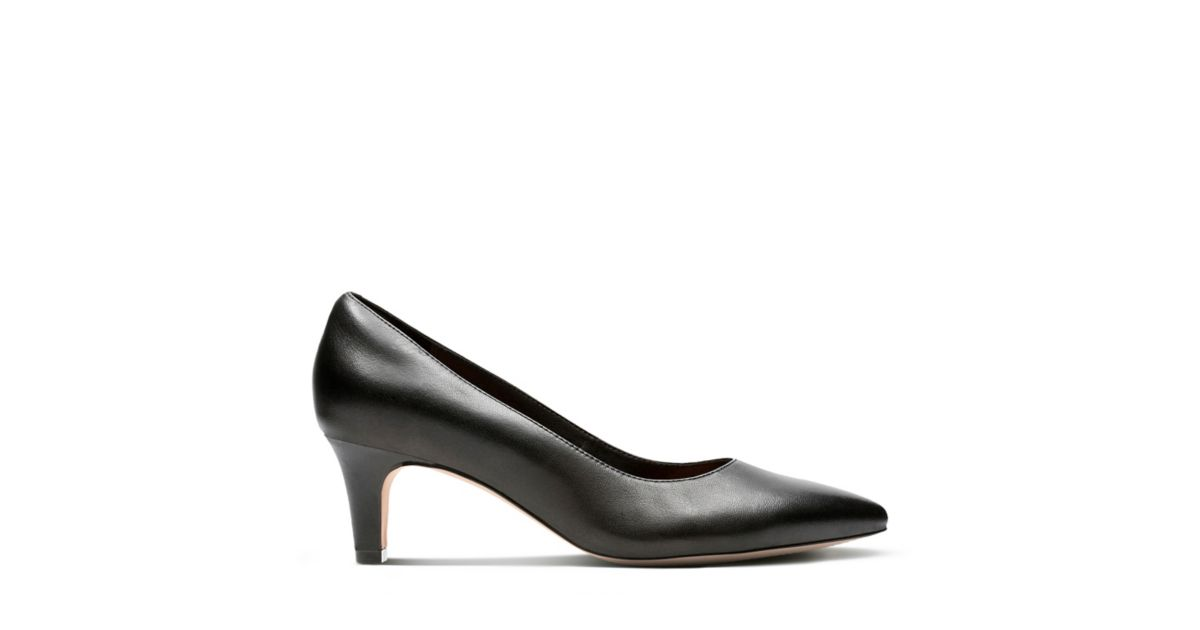 Crewso Wick Black Leather - Women's Black Edit - Clarks® Shoes Official  Site | Clarks
