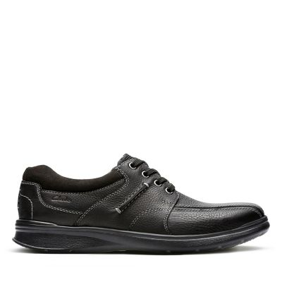 Cotrell Walk Mens Shoes Black Oily Leather