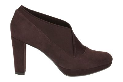 Kendra Sienna Metallic Clarks Shoes