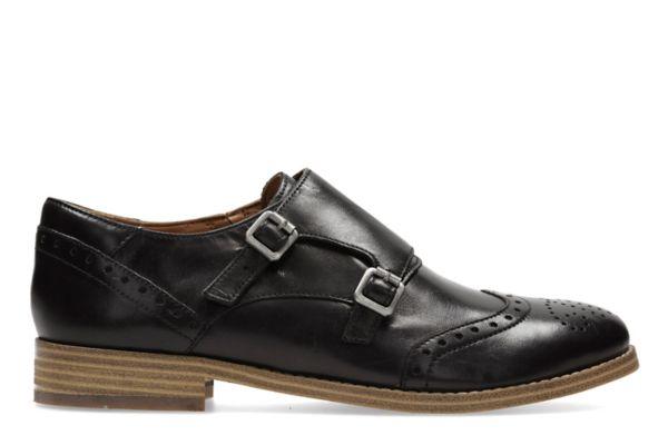 Zyris Vienna, zapatos oxford mujer en cuero negro