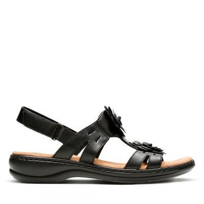 50% OFF. Leisa Claytin. Womens Sandals. Black Leather