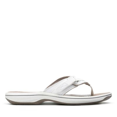 27% OFF. Breeze Sea. Womens Sandals. White Synthetic