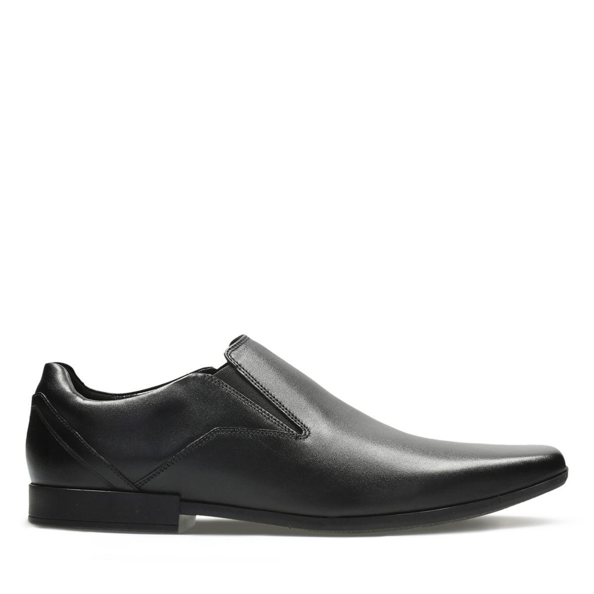 Mens Black Shoes Black Leather Shoes Clarks