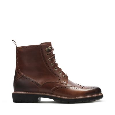 Brown Leather Boot Shoes