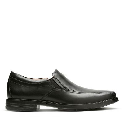 17aad8936a5960 Unsheridan Go. Mens Shoes. Black Leather