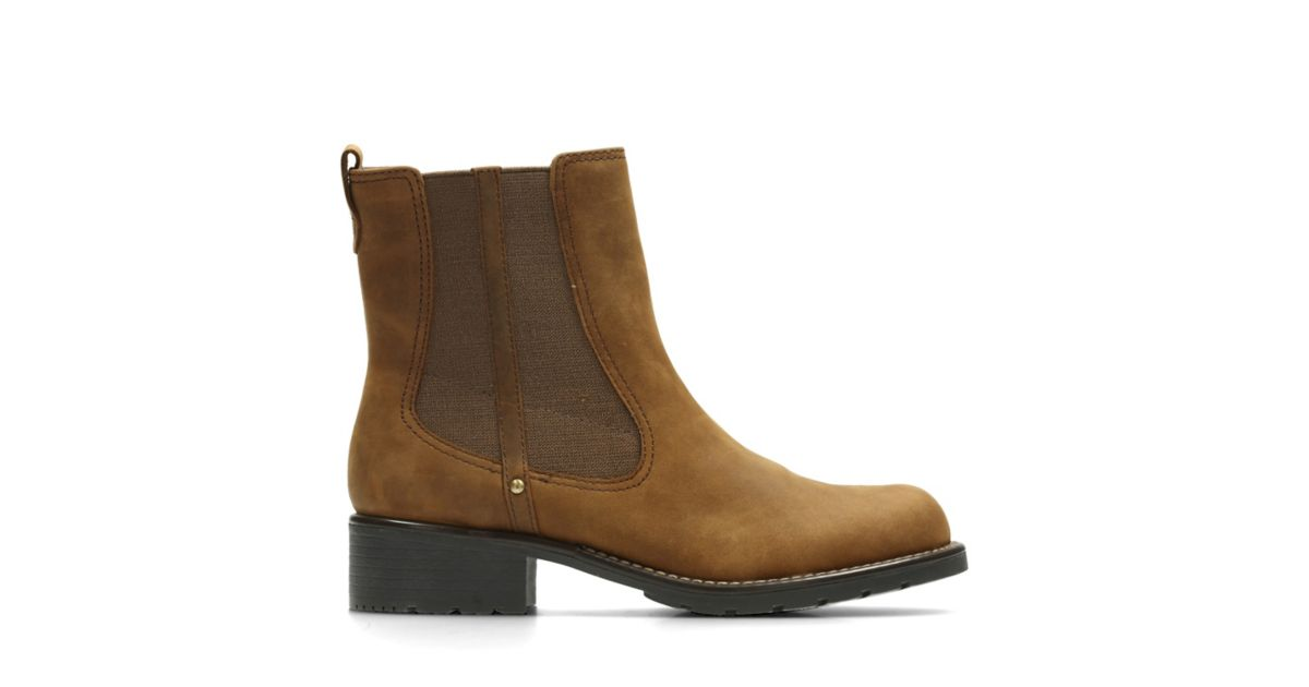 Orinoco Club Brown Snuff - Women's Booties & Ankle Boots