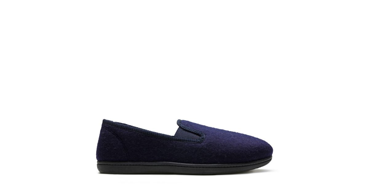 King Twin. Mens Slippers. Navy