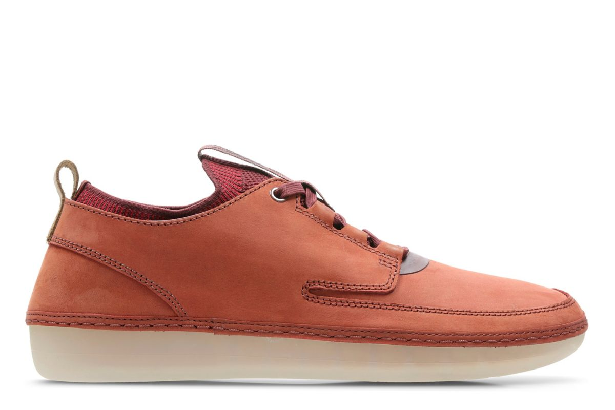 Mens Nature Iv Rust Combi Shoes Clarks 174 Shoes Official