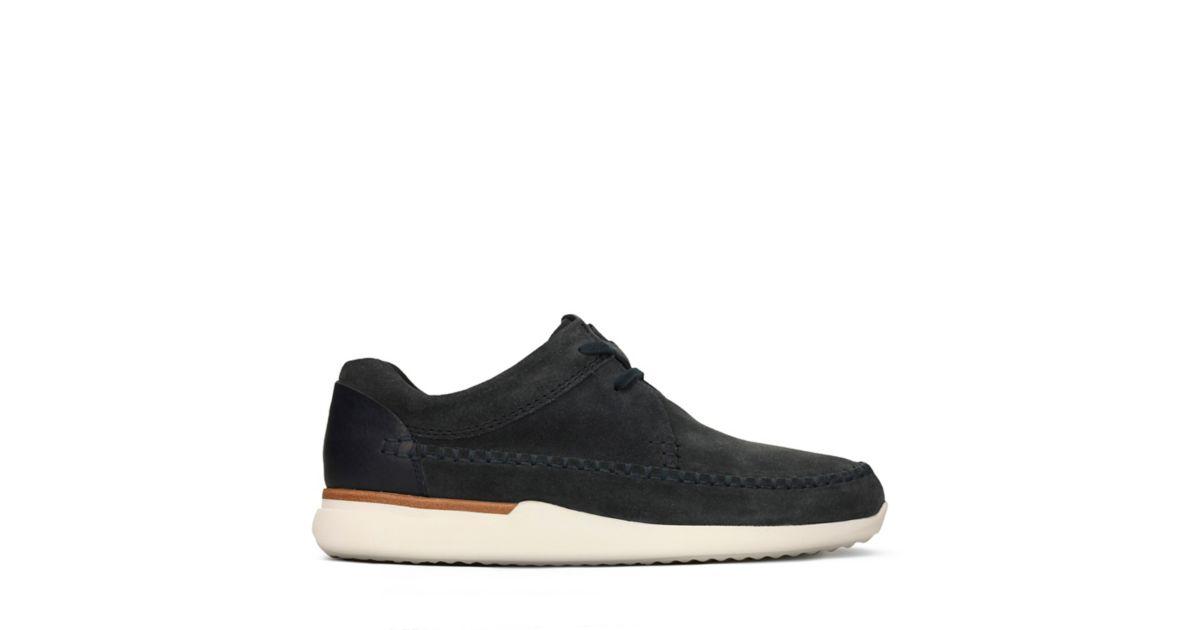 Tor Track Indigo Suede Clarks Original Shoes For Men
