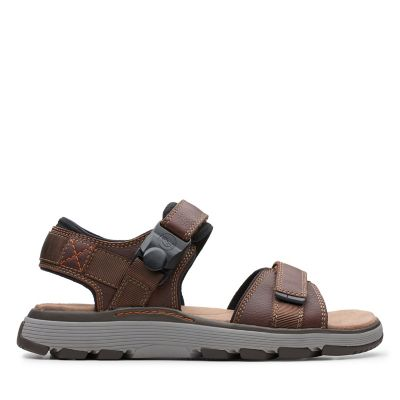 02c795e2493bd3 Un Trek Part. Mens Sport Sandals. Dark Tan Leather. 5.0 out of 5 stars5 0  5.0 4