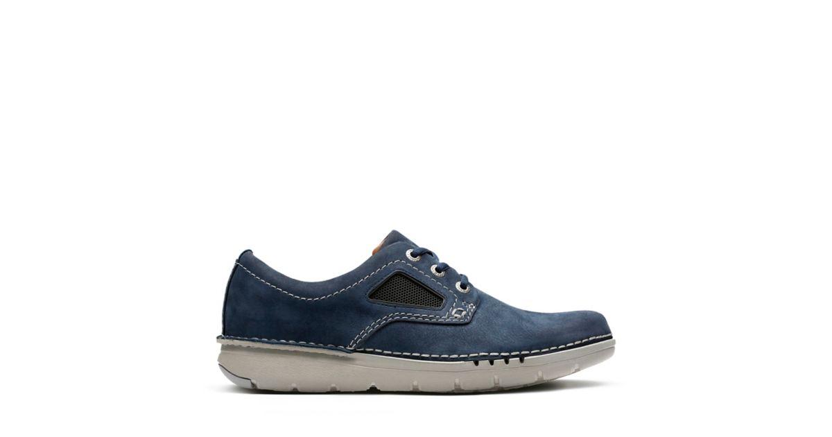 Clarks calzado Unnature Plain 26132034 azul calzado Clarks 5bf611