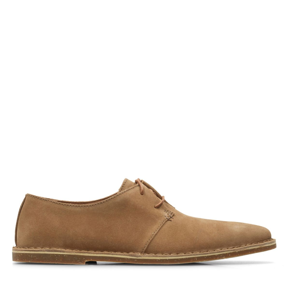 Baltimore Lace Tan Suede Clarks