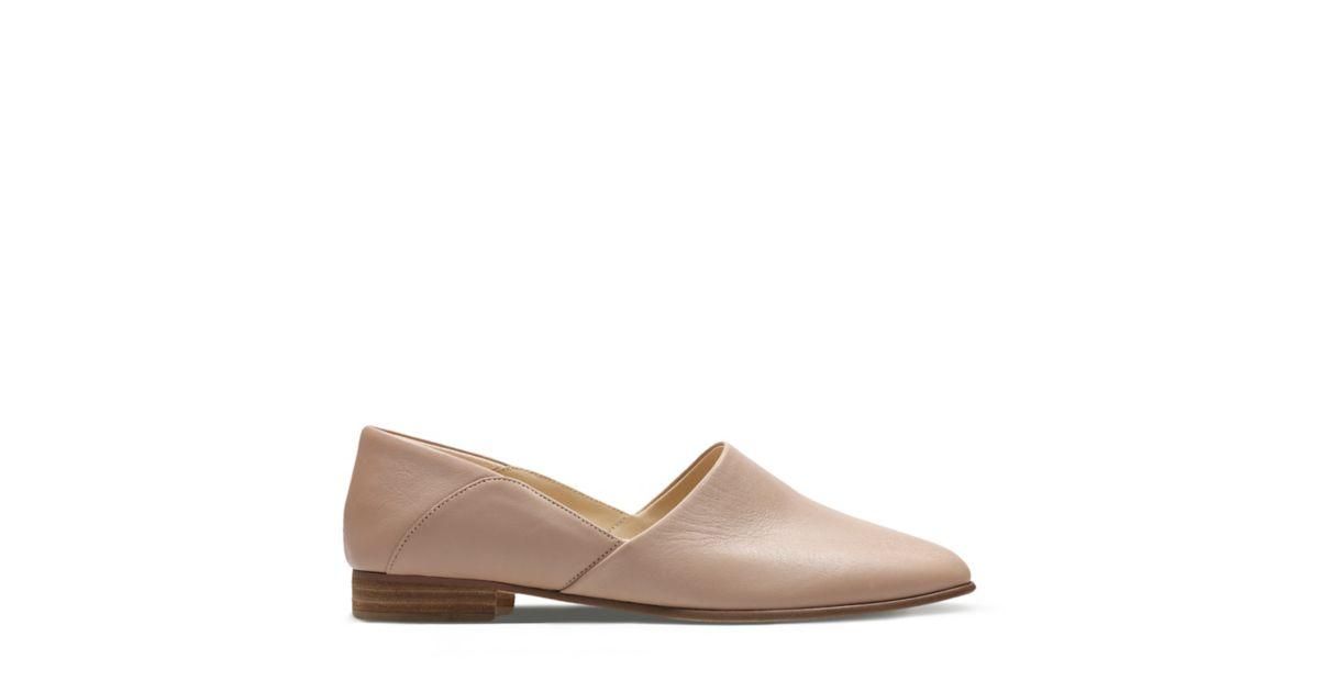 Clarks Pure Tone Blanc - Chaussures Chaussure-Ville Femme