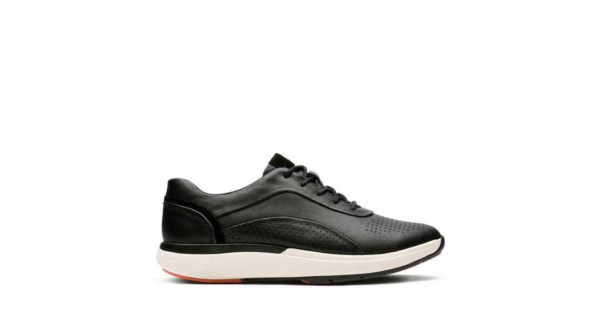 Un Cruise Lace Black Leather Women S Wavewalk Shoes