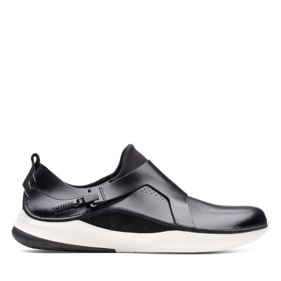 1dd278e4841474 PrivolutionM1. Mens Sport Shoes. Black Leather