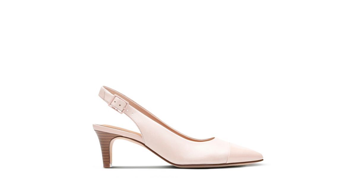 Crewso Emmy Dusty Pink Leather/Synthetic - Women's Heels - Clarks® Shoes  Official Site | Clarks
