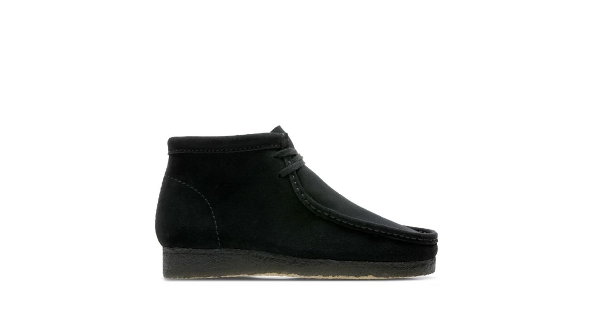 98967637d8a0f Wallabee Boot. Mens Originals Boots. Black Suede. 5.0 out of 5 ...