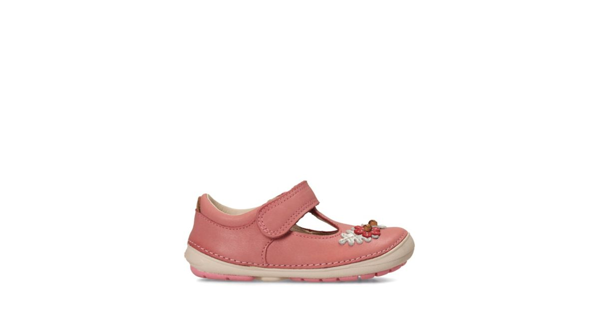 Baby Baby Baby Clarks Softly Leather Pink Toddler Blossom FcO0Hqw0R7
