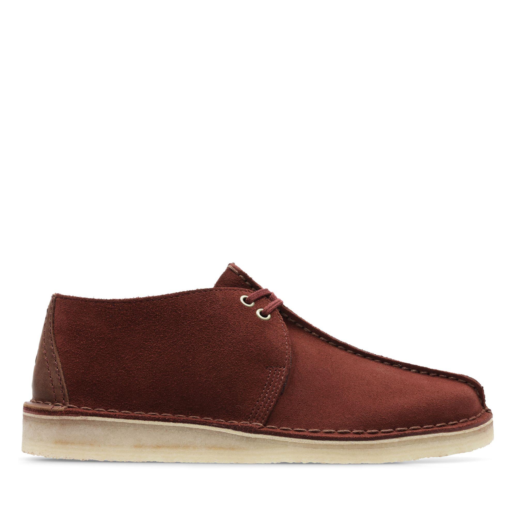 60s Mens Shoes | 70s Mens shoes – Platforms, Boots Clarks Desert Trek - Nut Brown - Mens 9 $79.99 AT vintagedancer.com