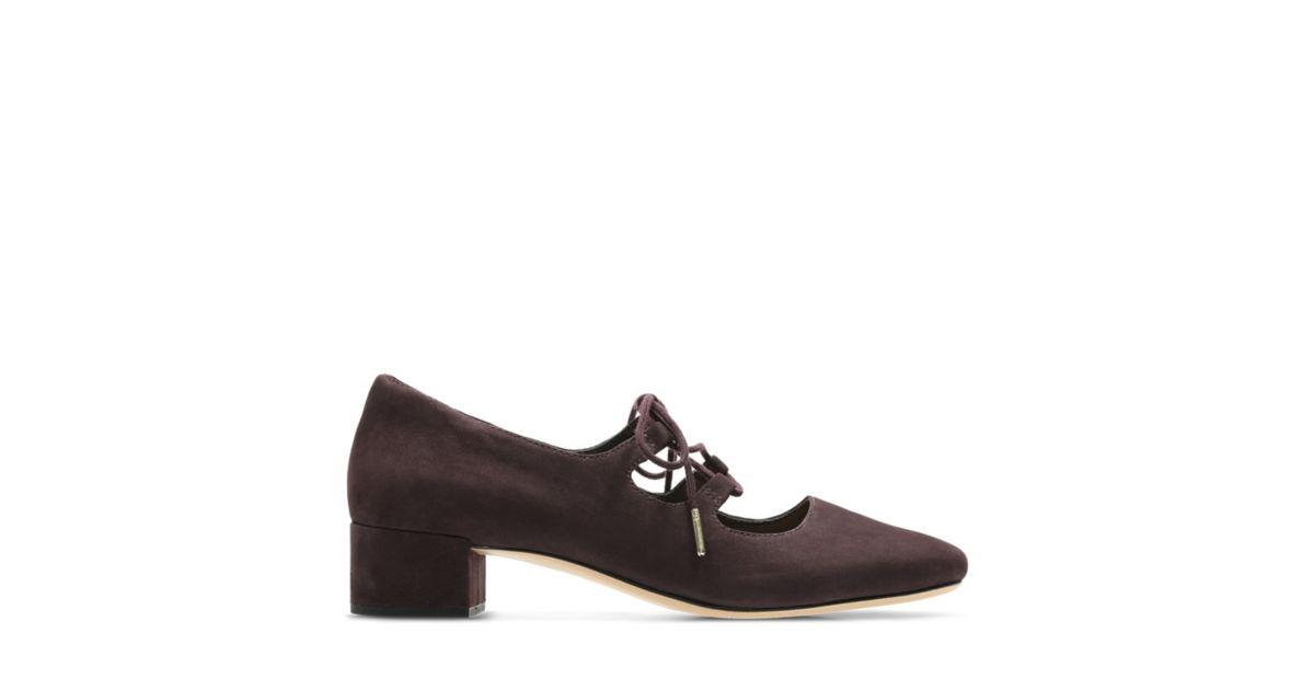 Shoes Clarks® Aubergine Official Shoes Orabella Women's Sofia wtCqqPS
