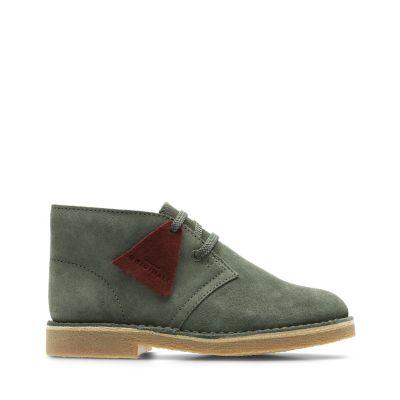Desert Boot.. Olive Suede