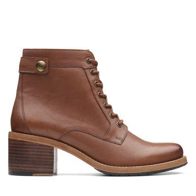 Clarkdale Tone Dark Tan Leather