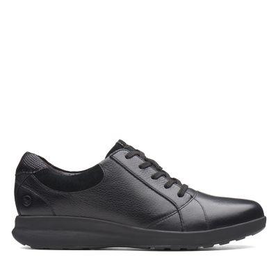 Femme Confort Chaussures Clarks Pieds Sensibles XHz65Z