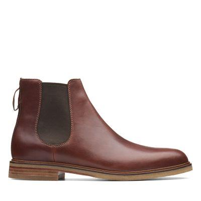 Clarkdale Gobi Mahogany Leather