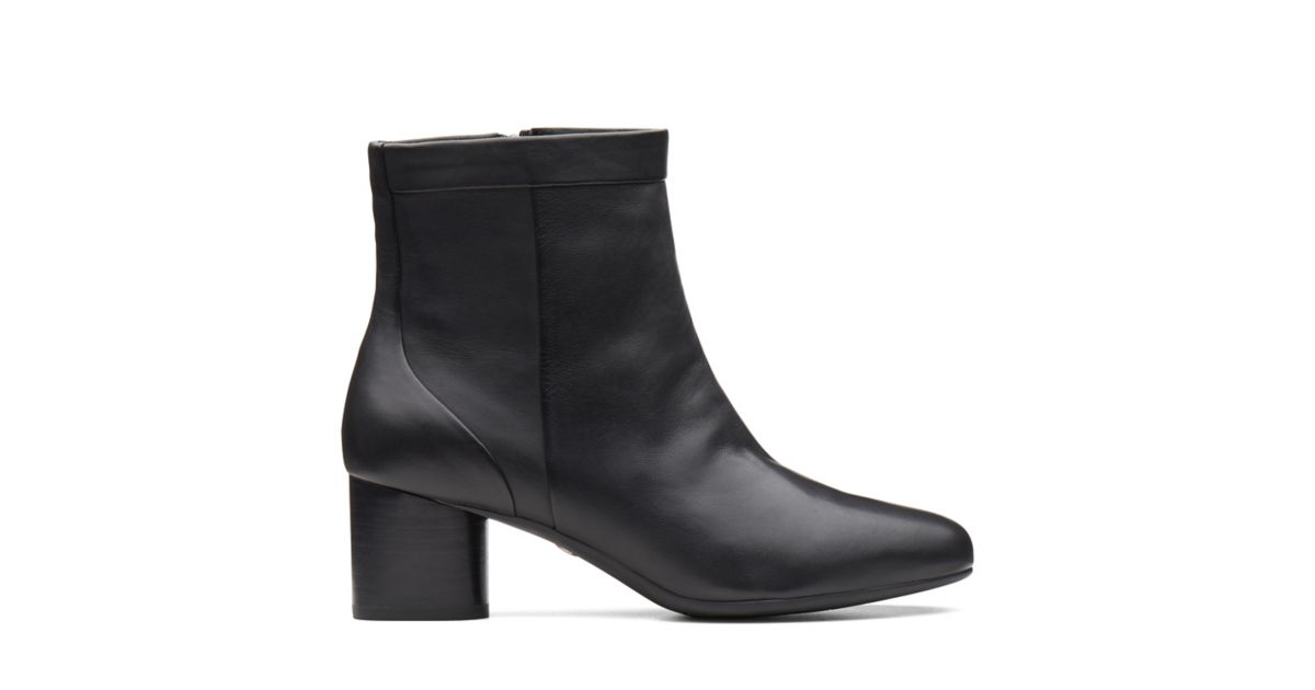 1dcd66aa1dd Un Cosmo Up Black Leather - Clarks® Official Site