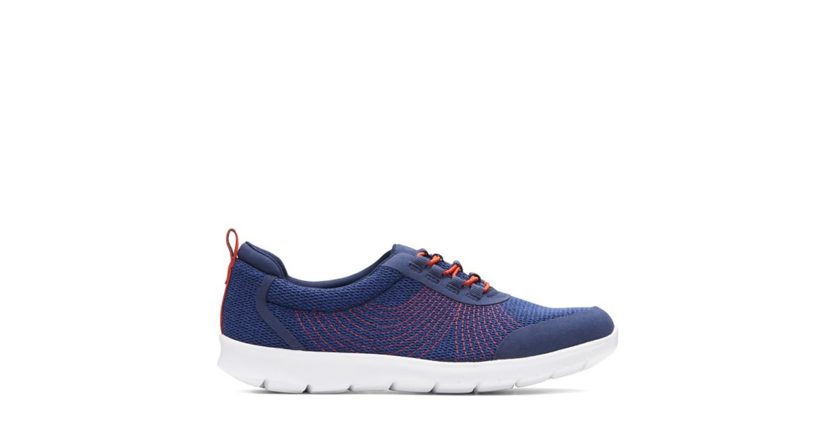 Step Allenabay Navy Textile Women S Active Shoes