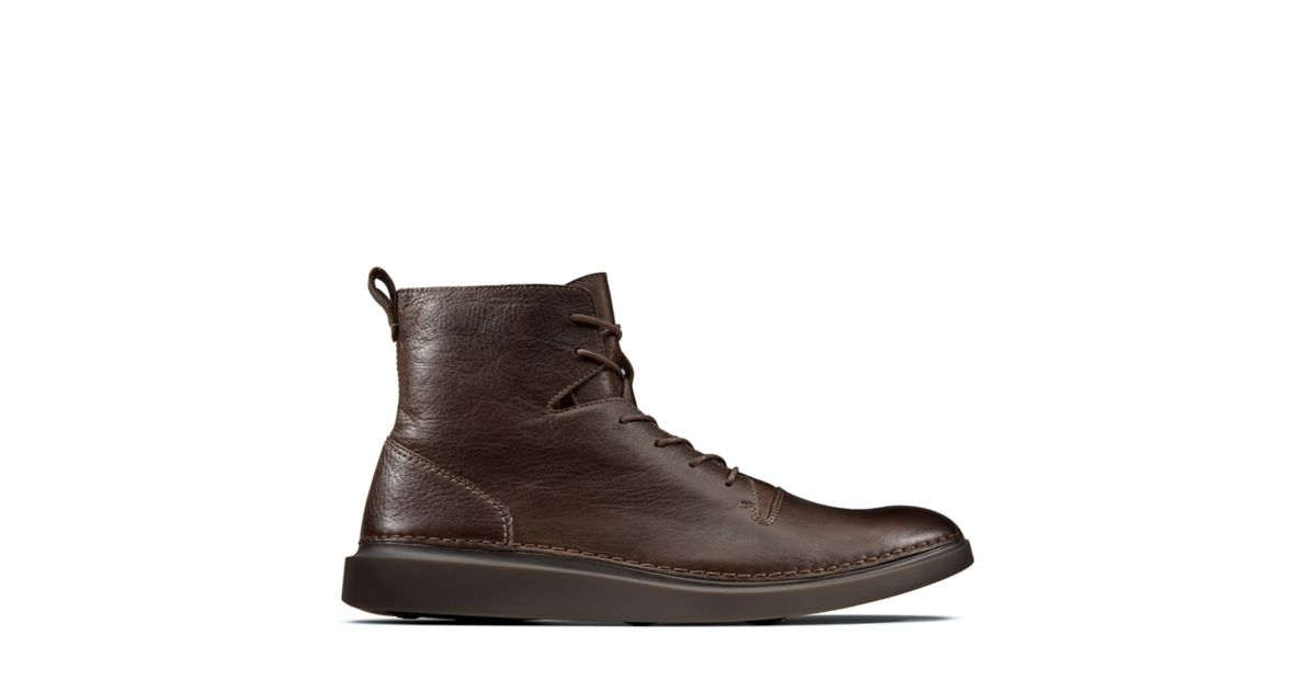 Hale Rise Dark Brown Clarks