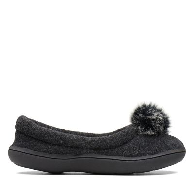 Clarks Fleece Charm Womens Slippers