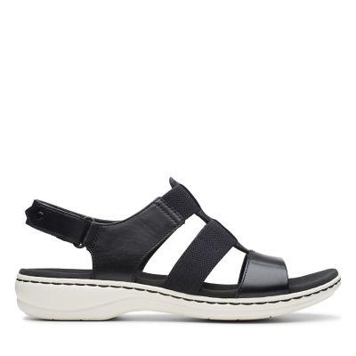 Leisa Brody. Womens Sandals. Black 480a4297a659a