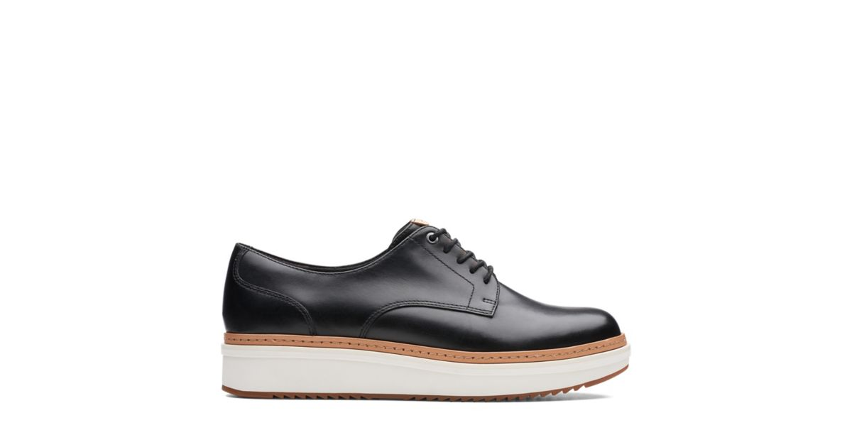 b6b44e1d2ebe72 Teadale Rhea Black Smooth-Womens shoes - Clarks® Shoes Official Site ...