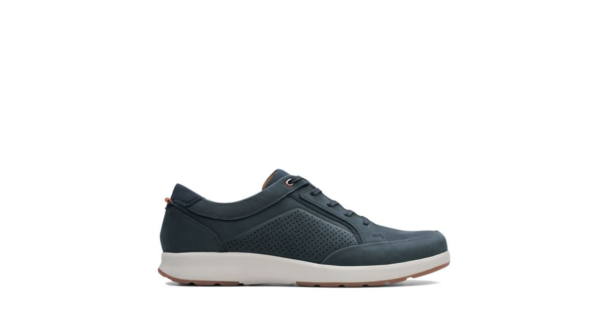 Navy Mens Casual Clarks® Nubuck Form Un Trail Shoes 8POn0wk