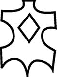 Pictogramme cuir enduit