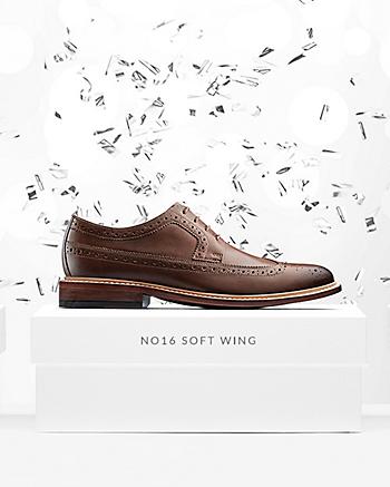 No16 Soft Wing Dark Tan Leather