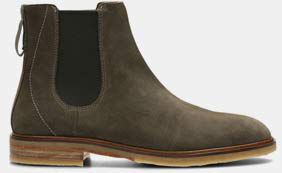 Clarkdale Gobi, Chelsea Boots pour Homme en Daim olive