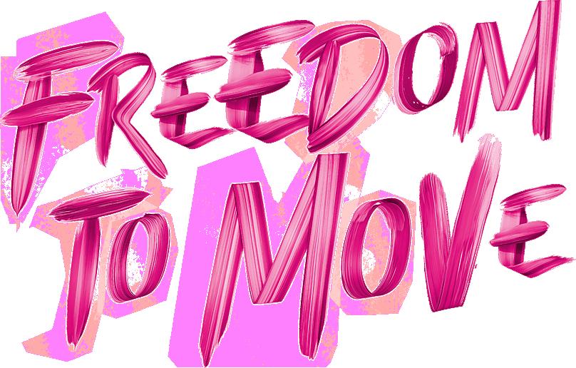 La liberté de bouger