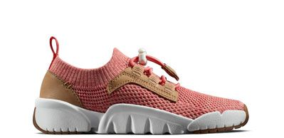 Kids trainers in coral combi