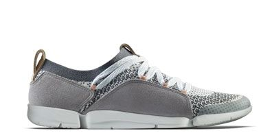 Women's trainers in grey combi