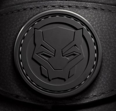 Rubberised Black Panther Icon Badge