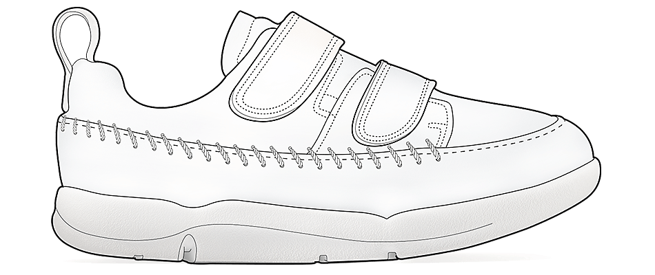 Choosing a walking shoe - 0 to 2 years old