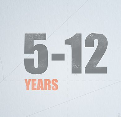 5-12 years