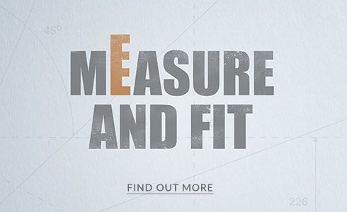 Measure and fit - find out more