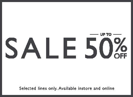 Sale upto 50% off